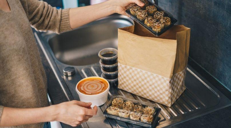 food packaging for takeaway